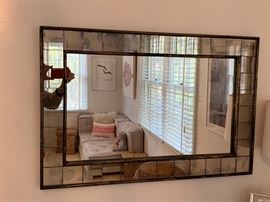 "16. Antiqued Mirror (36"" x 24"")"
