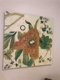 Leslie Saris print - lithograph