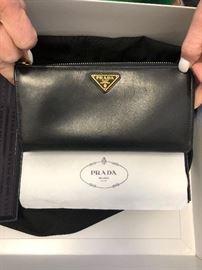 Prada wallet in box