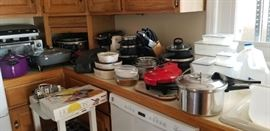 appliances and cookware