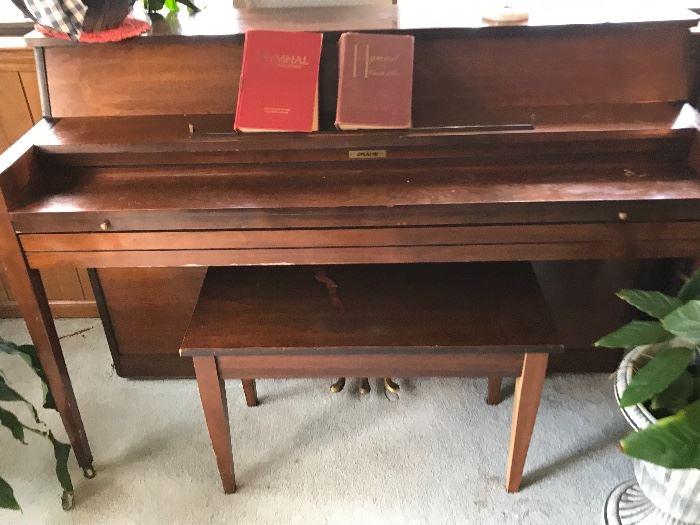Grand piano  tuned Great condition