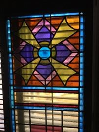 Closer look at 1940's Austrian stained glass