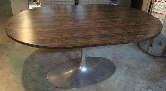 "40"" x 60"" Oval Custom Made Pedestal Table"
