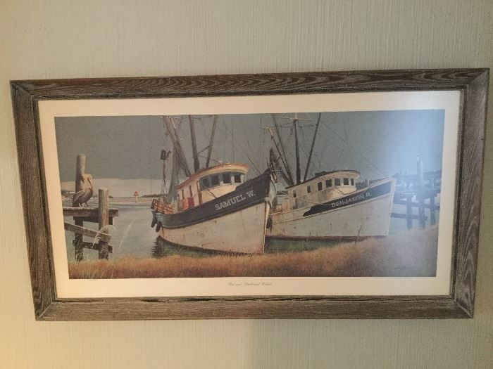 "Wellington Ward Jr., ""Port and Starboard Watch"" signed and numbered"