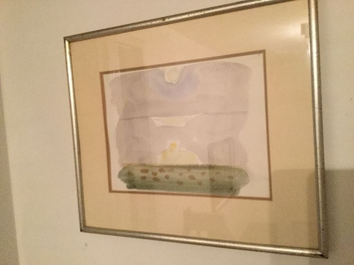 Original Robert Wilbert Watercolor