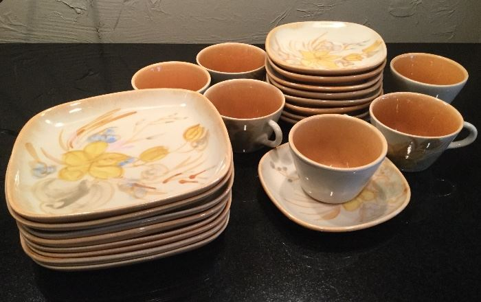 MCM Winfield Pasadena Luncheon Set