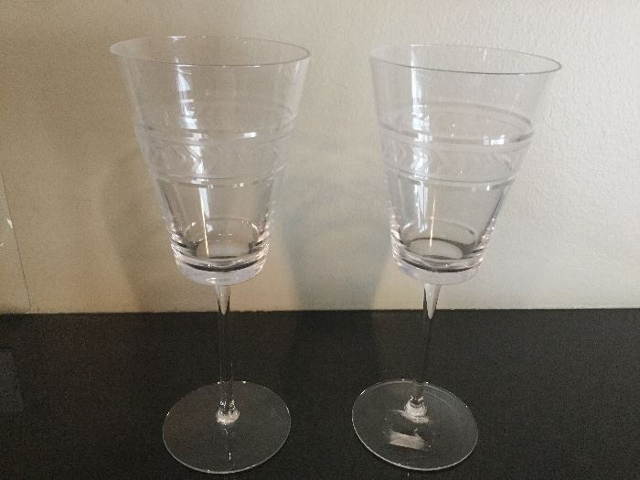 Pair Michael Aram Wine Glassses