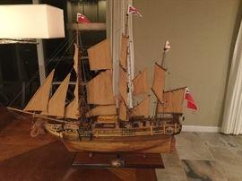 Hand Made Model HMS Bounty