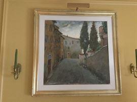 Italian artist Mainardi
