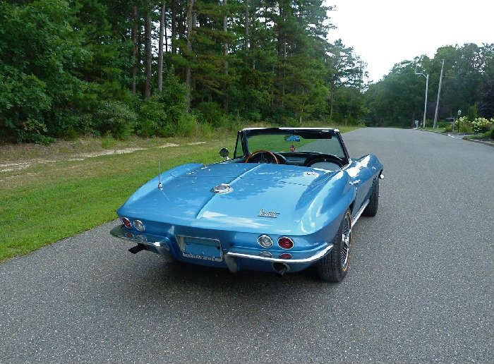1966 corvette roadster 327 350 horse power steering & brakes
