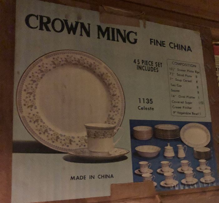Crown Ming Fine China, Celeste