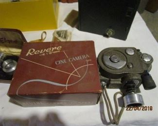 REVERE CINE MOVIE CAMERA