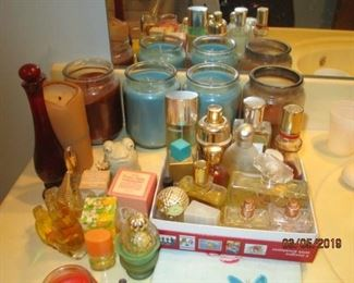 CANDLES AND PERFUMES