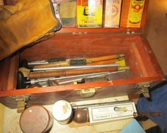 VINTAGE GUN CLEANING SET