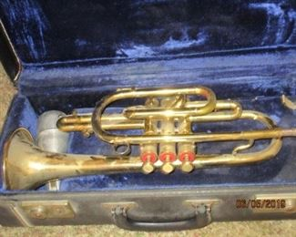TRUMPET - F E OLDS & SON