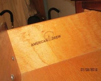 AMERICAN DREW BEDROOM SET