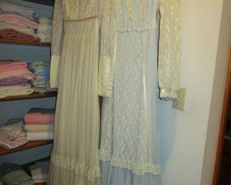 2 VINTAGE LONG DRESSES