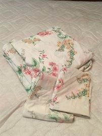 Vintage linens.