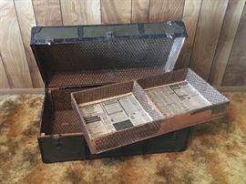 Antique trunk chest.