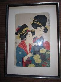 Woodblock print? art