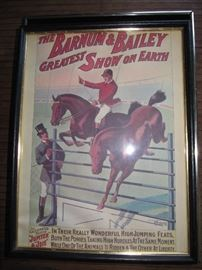 Ringling Bros Greatest Show on Earth print