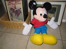 Mickey Mouse needs some tlc