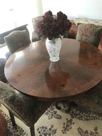 Karges or Baker large round table