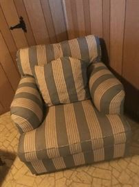 Baker living room chair, one of a pair