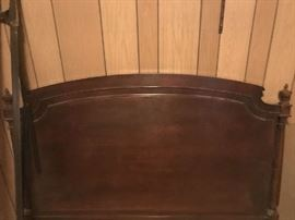 Karges head board, double, one of a pair
