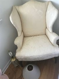 Baker small Queen Ann Chair
