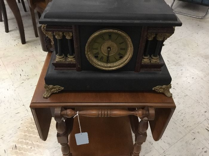 Sessions mantle clock - works