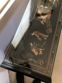 Drexel Heritage Chinoiserie Table	27x57x14in	HxWxD