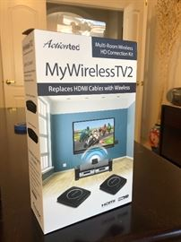 My wireless TV2 HD wireless HDMI cable boxes new in box