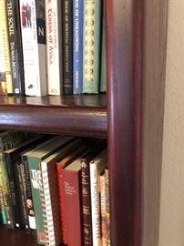 Mahogany bookshelf71.5x36x12inHxWxD