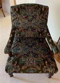 World Market Arm Chair #137x29x35inHxWxD