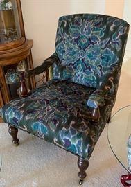 World Market Arm Chair #237x29x35inHxWxD