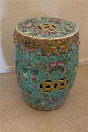Asian Ceramic Pedestal/Base