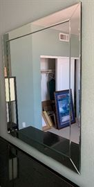 Large Wall Mount Mirror51in H x 46in W