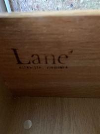 Lane Walnut Wardrobe Cab/Dresser72x44x23inHxWxD