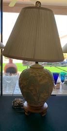 Stangl Pottery Lovebird Lamp Love Birds