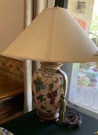Grape Vase Lamp