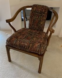 Drexel Heritage Asian Curve Back Chair32x28x27inHxWxD