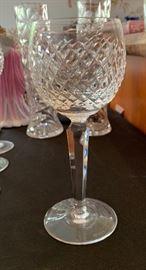 10 Waterford Alana Wine Hock Glasses