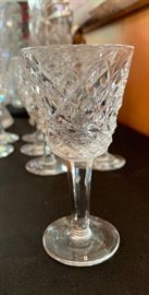 9 Waterford Alana Cordial/Cocktail Glasses