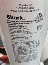 SHARK ZZ550 26 Sonic Duo Carpet/Floor Cleaner