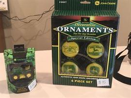 John Deere ornaments