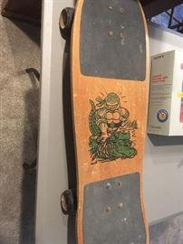 Vintage Ninja turtle skateboard (Michaelangelo)