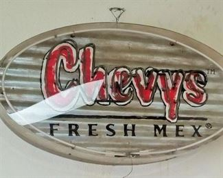 Giant Chevys Fresh Mex Neon Sign