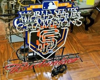 More Neon Signs World Series Budweiser