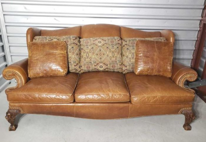 T5-1.jpgGentleman's Home by Drexel Heritage Furnishings Leather Couch